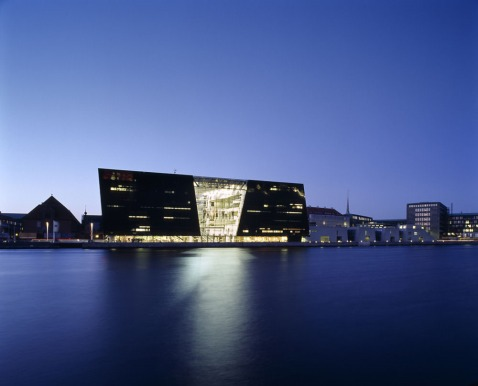 Royal Library Copenhage, obra de Schmidt Hammer Lassen architects