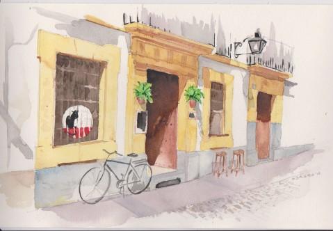 Bar Los Cuatro Gatos. Plaza de las Cañas, Córdoba.