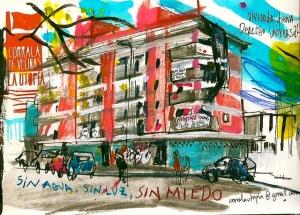 Dibujo de Inma Serrano.