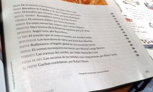 El País Semanal Especial Gastronomía. Índice