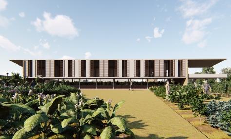 Edificio polivalente en Nodo educativo