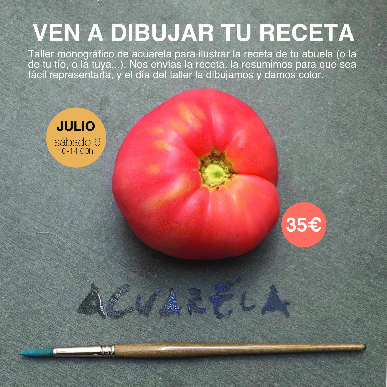 Dibujar receta_taller_baja